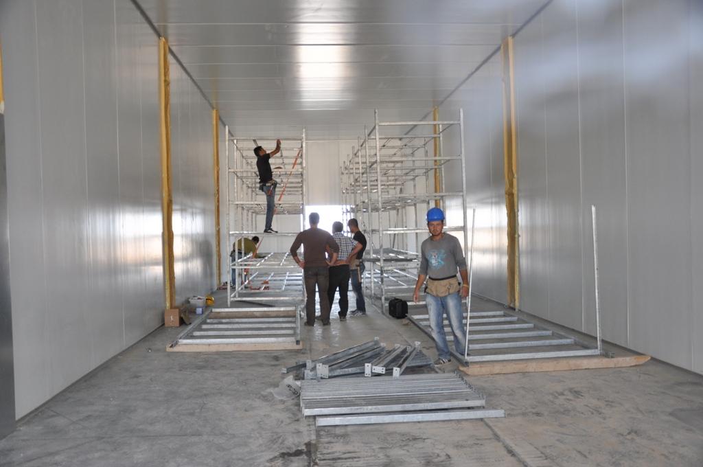 Emirdag Mushroom Plant 9 Growing Rooms Afyon Turkey